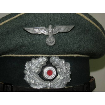 Infantry visor hat for NCOs of Wehrmacht Heer. Size 60. Espenlaub militaria