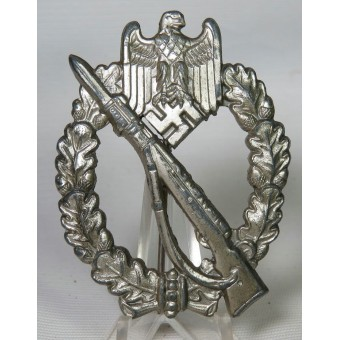 Set of Panzervernichtungsabzeichen and other awards with docs for Lieutenant Julius Hahn. Espenlaub militaria