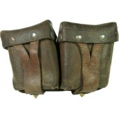 M38 Soviet leather ammo pouch for Mosin rifle