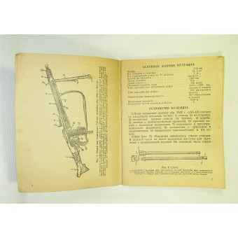 Red Army manual for the German 7,92-mm machine gun - MG 42,  1944.. Espenlaub militaria