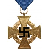 Cross for 40 years of faithful service in the 3rd Reich