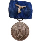 Faithfull service in Wehrmacht medal, 4 years, with Luftwaffe bar