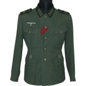 M 1936 Salty German Wehrmacht tunic in the rank of Funker in the 29th Signals motorized battalion