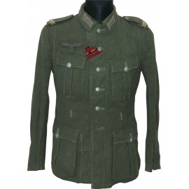 Lower ranks salty Wehrmacht tunic M41.