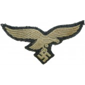 3rd Reich Luftwaffe combat tunic removed breast eagle