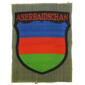 Aserbaidschan Azerbaijan volunteers in German army sleeve shield