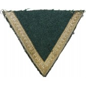 Early salty Gefreiter rank chevron with brass tresse