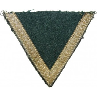 Early salty Gefreiter rank chevron with brass tresse. Espenlaub militaria
