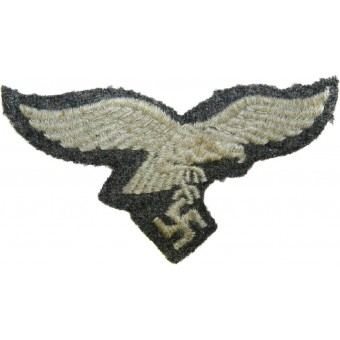 Field cap removed machine embroidered eagle-Luftwaffe. Espenlaub militaria