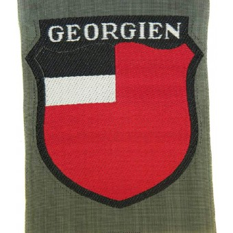 Georgian volunteer in Wehrmacht. Mint BeVo sleeve shield. Espenlaub militaria