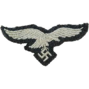 Grey wool hat removed Luftwaffe eagle. Espenlaub militaria