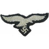 Grey wool hat removed Luftwaffe eagle