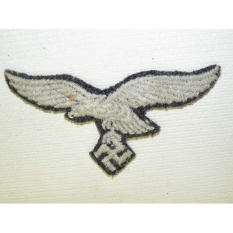 Luftwaffe breast eagle removed from Fliegerbluse. Espenlaub militaria