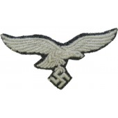 Luftwaffe breast eagle removed from Fliegerbluse