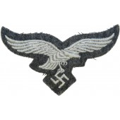 Luftwaffe breast eagle, very good condition. Tunic removed