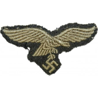 Luftwaffe eagle removed from headgear. Espenlaub militaria