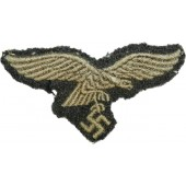 Luftwaffe eagle removed from headgear