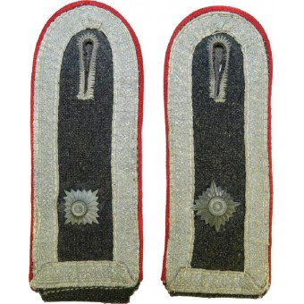Luftwaffe Flak artillerie shoulderstraps in rank of Oberfeldwebel for Fliegerbluse. Espenlaub militaria