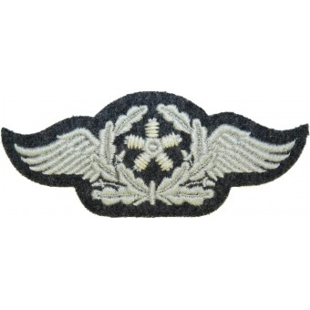 Luftwaffe Fliegerbluse sleeve trade badge for Technical Aviation Personnel. Espenlaub militaria