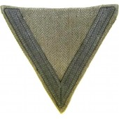 Luftwaffe grey drill working garment sleeve rank winkel for Gefreitor
