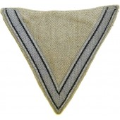 Luftwaffe grey sleeve winkel for working garment - rank Gefreiter