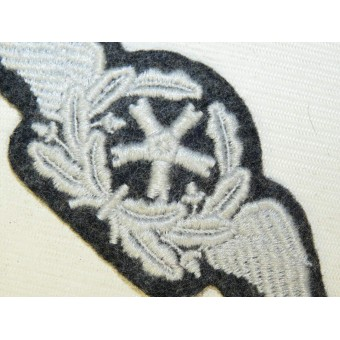 Luftwaffe sleeve trade patch for Technical Aviation Personnel. Espenlaub militaria