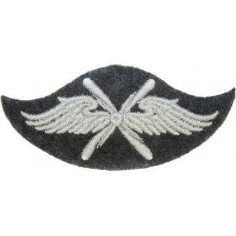 Luftwaffe trade sleeve badge for Flying Personnel. Espenlaub militaria