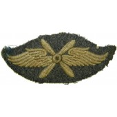 Luftwaffe tunic removed salty sleeve trade badge for Flying Personnel