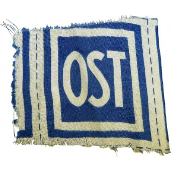 OST patch for eastern workers in the 3rd Reich. Espenlaub militaria