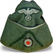 Side cap M 38 for Wehrmachtbeamte - Wehrmacht administration