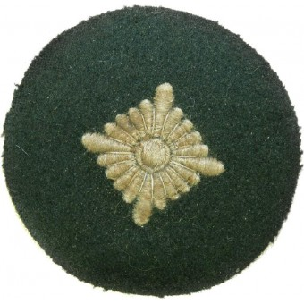 Tunic removed rank patch for Oberschutze. Espenlaub militaria