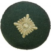 Tunic removed rank patch for Oberschutze