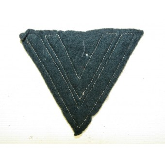 Uniform removed Obergefreiter winkel in a felt base. Espenlaub militaria
