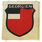 Unissued 3rd type printed patch of Georgian volunteer in Wehrmacht