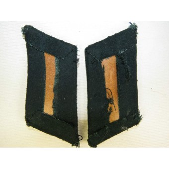 Wehrmacht Heer - Army collar tabs for Infantry officer. Espenlaub militaria
