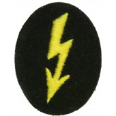 Wehrmacht Heer Army Signals operator with tank signal units or Female Wehrmacht helper trade patch