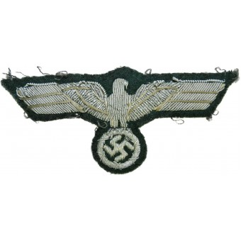 Wehrmacht Heer eagle for the officers tunic. Espenlaub militaria