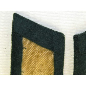Wehrmacht Heer, officers collar tabs for Nachrichtentruppe/ Signals. tunic removed. Espenlaub militaria