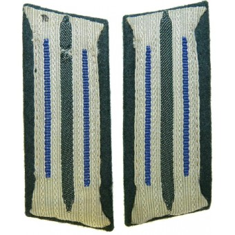 Wehrmacht Heer Sanitater/Medical service collar tabs for enlisted personnel and NCOs. Espenlaub militaria