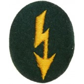 Wehrmacht Heer Signals operator with cavalry unit trade patch