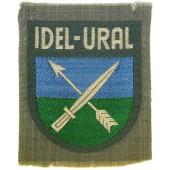 Wehrmacht Heer, Tatrian volunteers sleeve shield- Idel Ural. BeVo, mint unissued condition