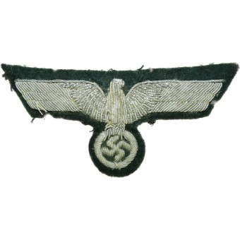 Wehrmacht Heer Uniform removed bullion officers eagle. Espenlaub militaria