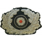 Wehrmacht Heer Visor hat bullion embroidered wreath