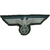 Wehrmacht heer, Waffenrock removed flatwire eagle