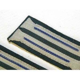 Wehrmacht  Medical service collar tabs for enlisted personnel. Espenlaub militaria
