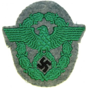 WW2 German Police sleeve eagle for Schutzpolizei