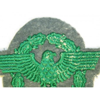 WW2 German Police sleeve eagle for Schutzpolizei. Espenlaub militaria