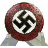 "Early transitional NSDAP badge ""39"" marked Robert Beck-Pforzheim"