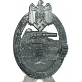 Panzer Assault Badge, Silver Grade, by Frank & Reif Stuttgart