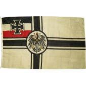 Military flag of Imperial Germany 1903-1918.